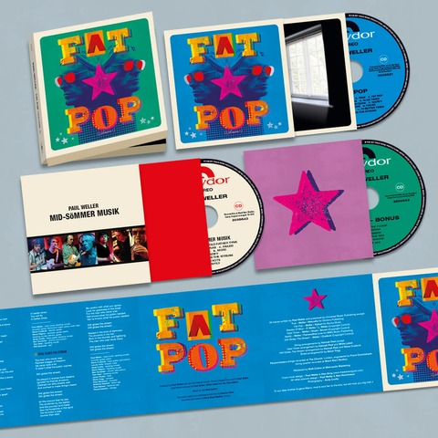 √Fat Pop (3CD Boxset) von Paul Weller - 3CD Boxset jetzt im Bravado Shop