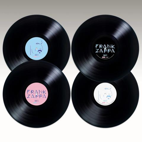 √Zappa '88: The Last U.S. Show (Ltd. Edition - 180g Black Vinyl) von Frank Zappa - 4LP jetzt im Bravado Shop