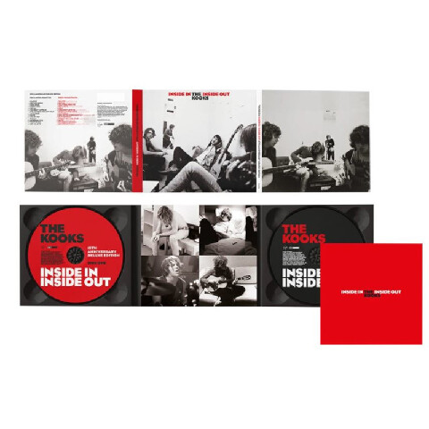 Inside In / Inside Out (15th Anniversary Edition 2CD) von The Kooks - 2CD jetzt im Bravado Shop