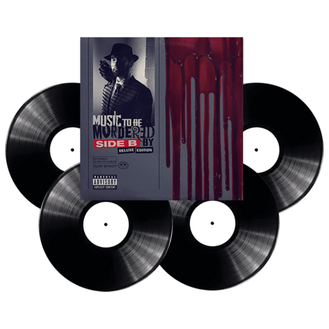 √Music To Be Murdered By - Side B (Deluxe Edition) von Eminem - 4LP jetzt im Bravado Shop