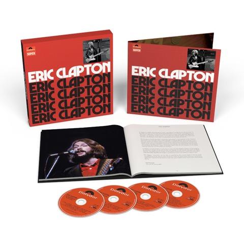 Eric Clapton (4CD Anniversary Deluxe Edition) von Eric Clapton - 4CD jetzt im Bravado Shop