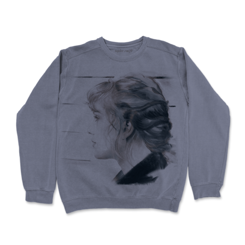 the bluest skies the darkest gray von Taylor Swift - pullover jetzt im Bravado Shop