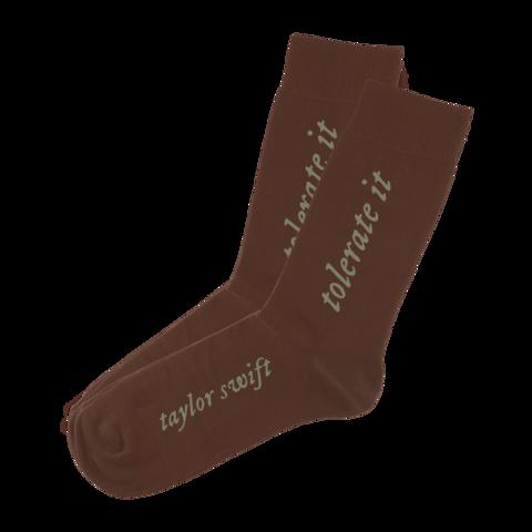 √the tolerate it socks von Taylor Swift - socks jetzt im Bravado Shop