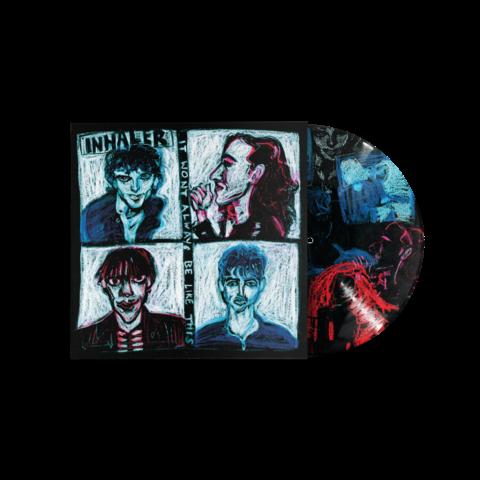 It Won't Always Be Like This (Noel Fielding Wonky Crayon Picture Disc Vinyl) von Inhaler - Picture LP jetzt im Bravado Store