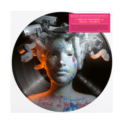 √Piece Of Your Heart/Lose Control (Ltd. 10'' Picture Vinyl) von MEDUZA - Picture LP jetzt im Bravado Shop
