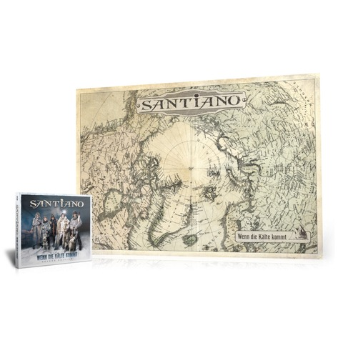 Wenn die Kälte kommt (Ltd. Bundle: Deluxe Edition + exklusives Fan-Poster) von Santiano - CD Bundle jetzt im Bravado Store