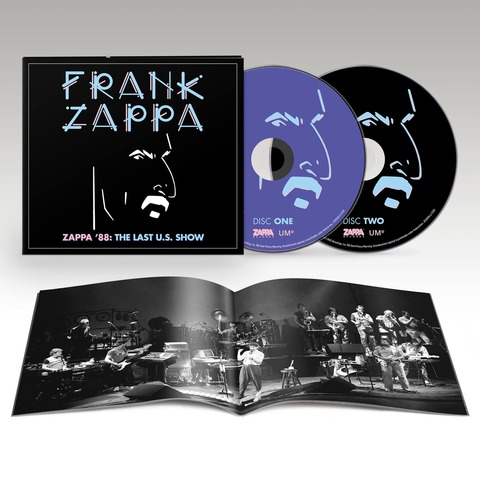 √Zappa '88: The Last U.S. Show (Ltd. Edition) von Frank Zappa - 2CD jetzt im Bravado Shop