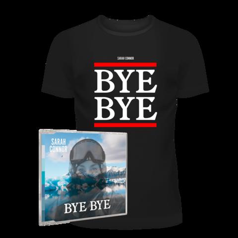 √Bye, Bye (2-Track CD + T-Shirt - Ltd. Bundle) von Sarah Connor - 2 Track CD + T-Shirt jetzt im Bravado Shop