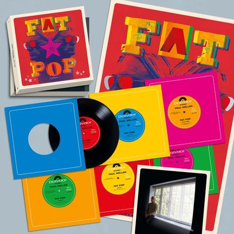 √Fat Pop (Excl. 6 x 7inch Boxset) von Paul Weller - 6 x 7inch Boxset jetzt im Bravado Shop