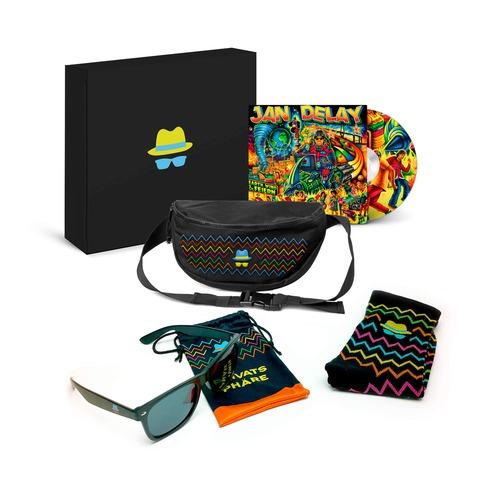 √Earth, Wind & Feiern (Ltd. Fanbox + Bauchtasche) von Jan Delay -  jetzt im Bravado Shop
