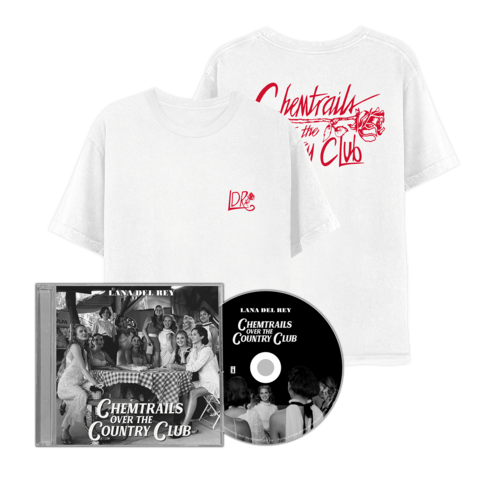 √Chemtrails Over The Country Club (CD + T-Shirt) von Lana Del Rey - CD Bundle jetzt im Bravado Shop