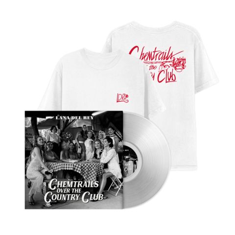 √Chemtrails Over The Country Club (Excl. Transparent LP + T-Shirt) von Lana Del Rey - lp bundle jetzt im Bravado Shop
