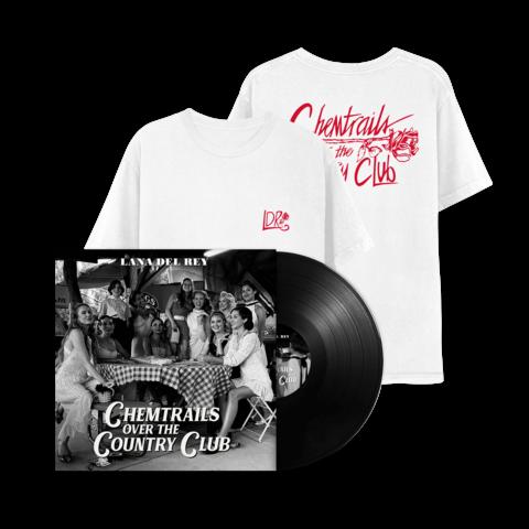 Chemtrails Over The Countryclub (LP + T-Shirt) von Lana Del Rey - LP Bundle jetzt im Bravado Shop