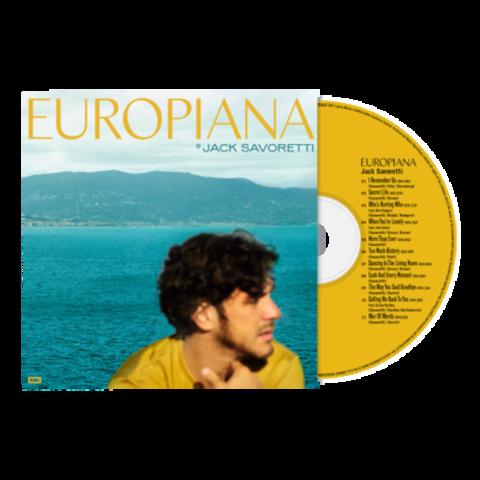 √Europiana von Jack Savoretti - CD jetzt im Bravado Shop