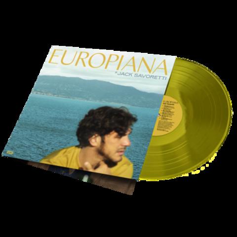Europiana von Jack Savoretti - LP jetzt im Bravado Shop