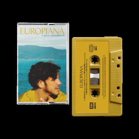 √Europiana (Excl. Cassette) von Jack Savoretti - MC jetzt im Bravado Shop