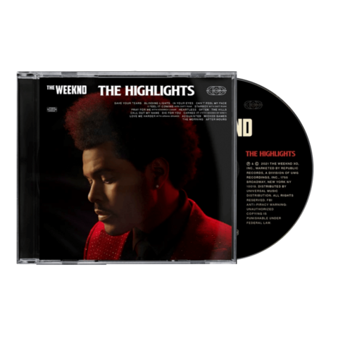 √The Highlights von The Weeknd - CD jetzt im Bravado Shop