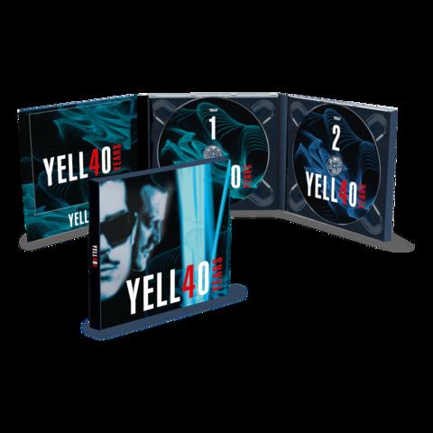 √4O YEARS (2CD) von Yello - 2CD jetzt im Bravado Shop