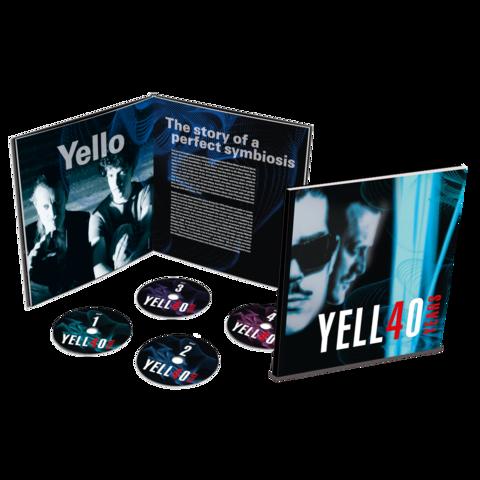 √4O YEARS (Ltd. Earbook 4CD) von Yello -  jetzt im Bravado Shop