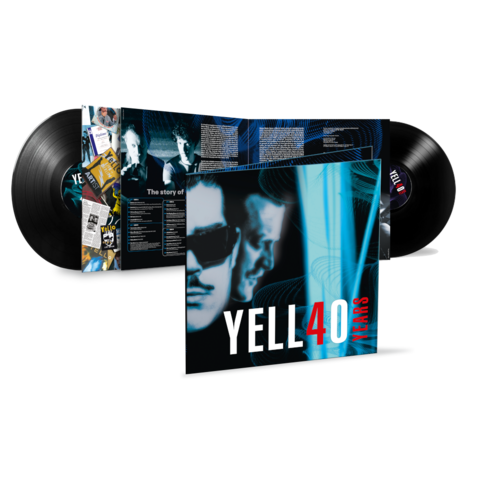 √4O YEARS (Ltd. 2LP) von Yello - 2LP jetzt im Bravado Shop