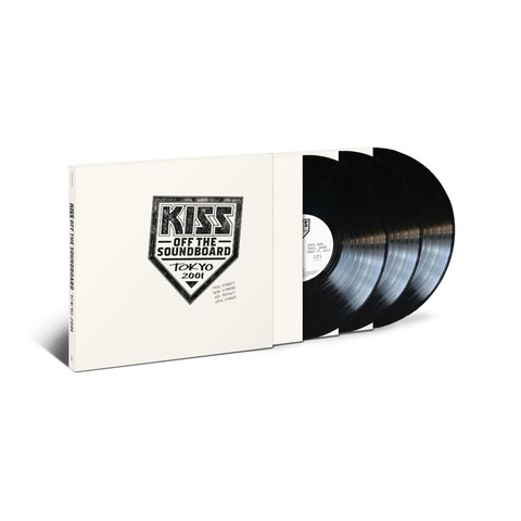 √Off The Soundboard: Tokyo 2001 (3LP) von Kiss -  jetzt im Bravado Shop
