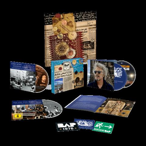 √Alles Fliesst - Geburtstagsedition (Ltd. Deluxe  + Leinwand) von Niedeckens BAP -  jetzt im Bravado Shop