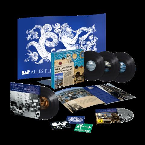 √Alles Fliesst - Geburtstagsedition (Ltd. Vinyl + Flagge) von Niedeckens BAP -  jetzt im Bravado Shop