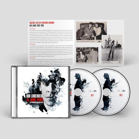 75 Jahre Panik (2CD) von Udo Lindenberg - 2CD jetzt im Bravado Store