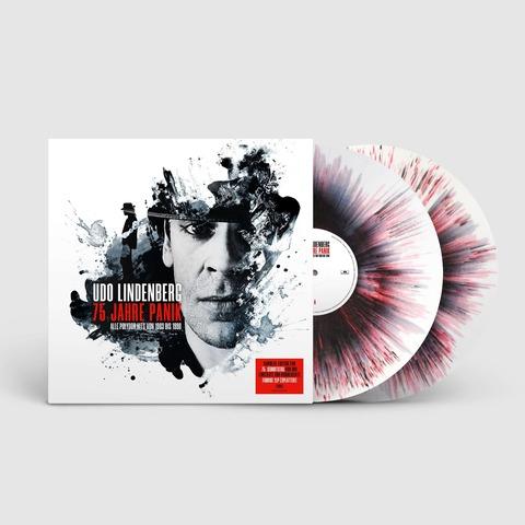 √75 Jahre Panik (Numbered 2LP Splatter Vinyl) von Udo Lindenberg -  jetzt im Bravado Shop