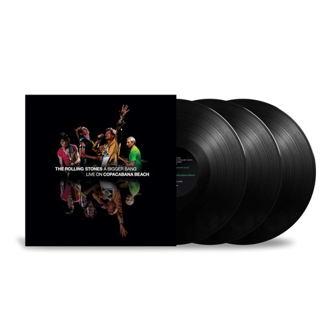 A Bigger Bang - Live On Copacabana Beach (3LP) von The Rolling Stones - 3LP jetzt im Bravado Shop