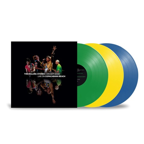 √A Bigger Bang - Live On Copacabana Beach (Ltd. Coloured 3LP) von The Rolling Stones - Coloured 3LP jetzt im Bravado Shop