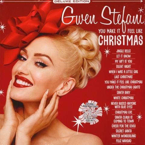 You Make It Feel Like Christmas von Gwen Stefani - Limited Opaque White Vinyl 2LP jetzt im Bravado Store