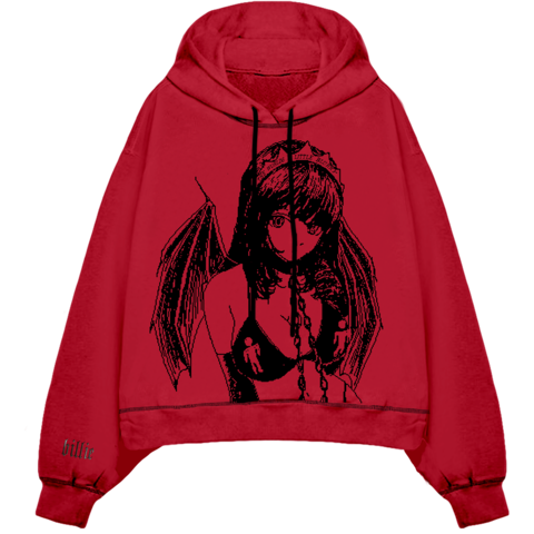 Princess Blurry von Billie Eilish - Hooded Sweatshirt jetzt im Bravado Shop