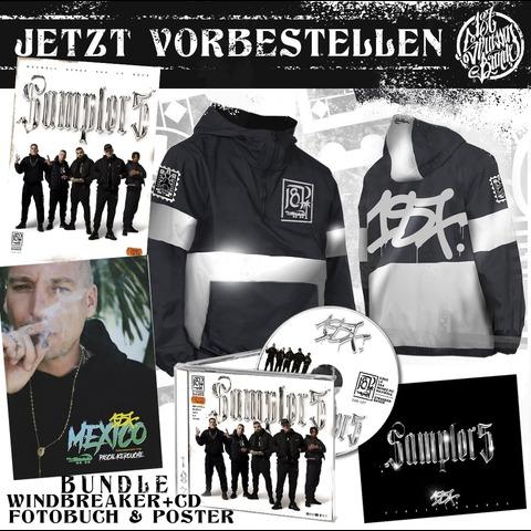 √Sampler 5 (CD + Windbreaker) von 187 Strassenbande - CD-Bundle jetzt im Bravado Shop