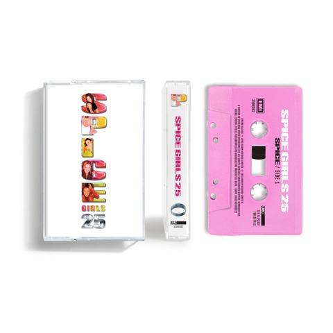 Spice (25th Anniversary) (Exclusive 'Baby' Pink Coloured Cassette) von Spice Girls - Cassette jetzt im Bravado Store