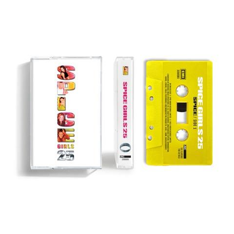 Spice (25th Anniversary) (Exclusive 'Sporty' Yellow Coloured Cassette) von Spice Girls - Cassette jetzt im Bravado Store