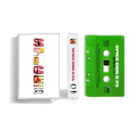 Spice (25th Anniversary) (Exclusive 'Scary' Light Green Coloured Cassette) von Spice Girls - Cassette jetzt im Bravado Store