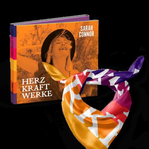 √HERZ KRAFT WERKE (Special Deluxe Edition Bundle) von Sarah Connor - CD + Tuch + Puzzle jetzt im Bravado Shop