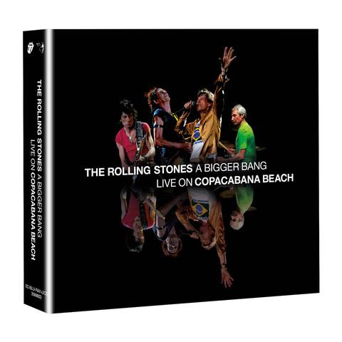 √A Bigger Bang - Live On Copacabana Beach (BluRay + 2CD Audio) von The Rolling Stones - BluRay + 2CD jetzt im Bravado Shop