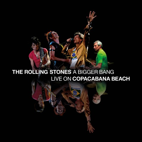 √A Bigger Bang - Live On Copacabana Beach von The Rolling Stones - DVD jetzt im Bravado Shop