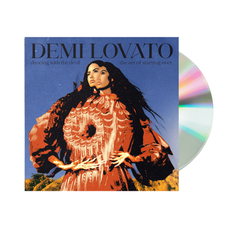 The Art of Starting Over Exclusive Cover 3 incl. Bonus Track von Demi Lovato - CD jetzt im Bravado Shop