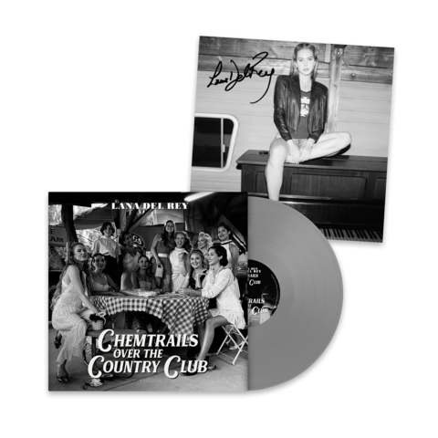 √Chemtrails Over The Country Club (Excl. Grey LP + Signed Art Card 12x12) von Lana Del Rey - Coloured LP + Signed Art Card jetzt im Bravado Shop