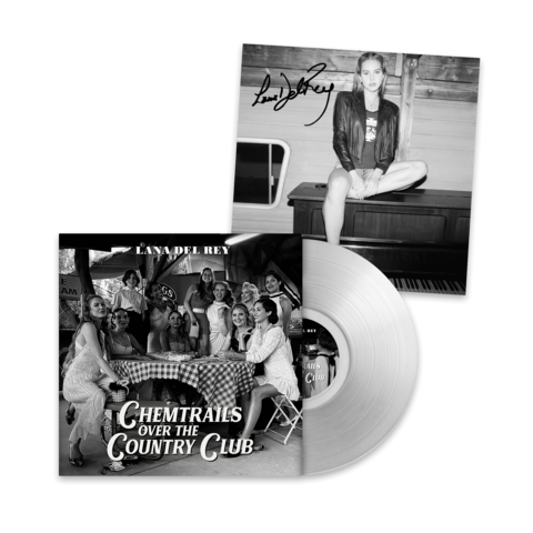 √Chemtrails Over The Country Club (Excl. Transparent LP - Signed Art Card 12x12) von Lana Del Rey - Coloured LP + Signed Art Card jetzt im Bravado Shop
