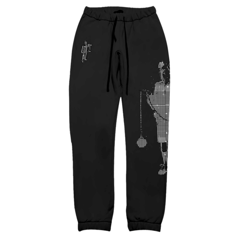 Limited Leave Me Alone Rhinestone von Billie Eilish - Sweatpants jetzt im Bravado Shop