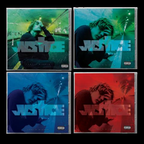 √JUSTICE COMPLETE CD COLLECTION von Justin Bieber - CD Bundle jetzt im Bravado Shop