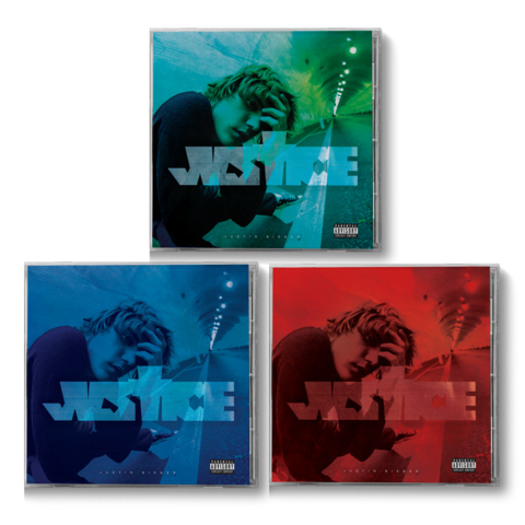 √JUSTICE EXCLUSIVE BONUS TRACK CD I-III COLLECTION von Justin Bieber - CD Bundle jetzt im Bravado Shop