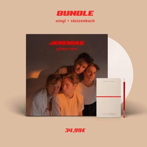 √golden hour (Vinyl + Skizzenbuch und Bleistift) von JEREMIAS - LP + Skizzenbuch und Bleistift jetzt im Bravado Shop