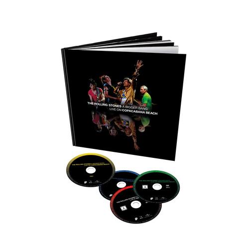 √A Bigger Bang - Live On Copacabana Beach (4 Disc Set - 2 BluRay + 2CD Audio) von The Rolling Stones - BluRay Boxset jetzt im Bravado Shop
