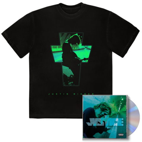 √JUSTICE ALTERNATE COVER I + EXCLUSIVE BONUS TRACK I CD + T-SHIRT von Justin Bieber - CD + T-shirt jetzt im Bravado Shop