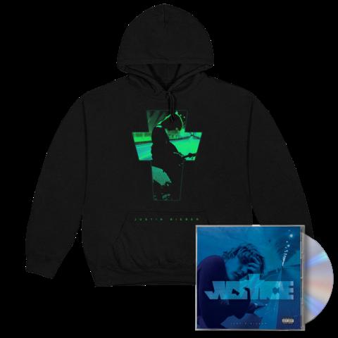 √JUSTICE ALTERNATE COVER III + EXCLUSIVE BONUS TRACK III CD + HOODIE von Justin Bieber - CD + Hoodie jetzt im Bravado Shop